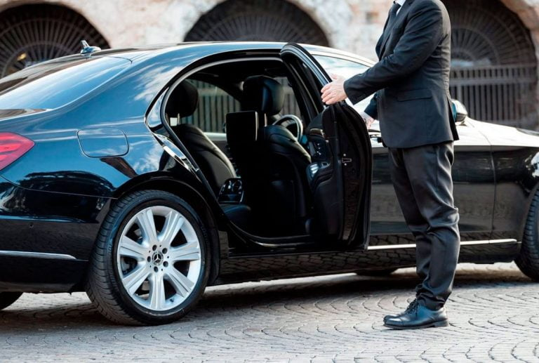airport transfers with a chauffeur